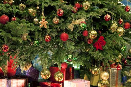 christmas motif: Christmas gifts