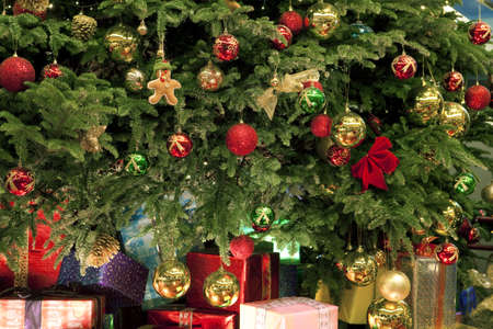 Kerst cadeaus  Stockfoto