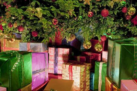 Kerst geschenken  Stockfoto