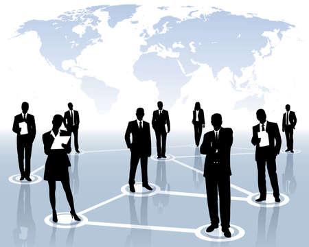 réseau international Vecteurs