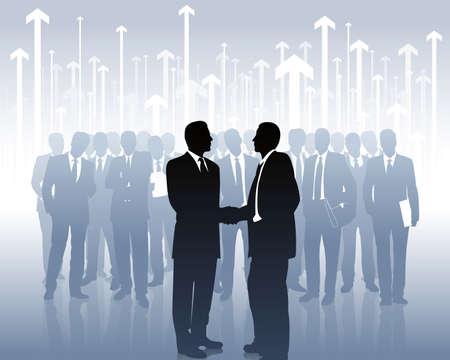 asociados de negocios