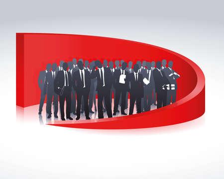 Business team Banco de Imagens - 8891470