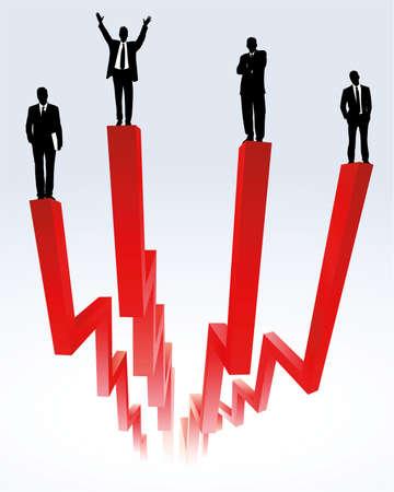 grafico vendite: successo