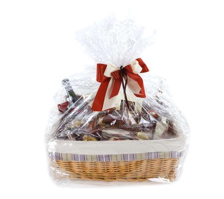 dar un regalo: Cesta de alimentos