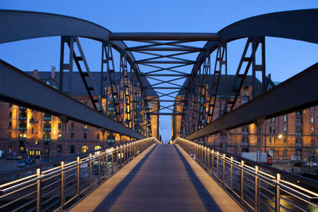 hamburg: Bridge in Hamburg, germany