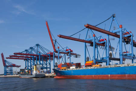 port of shipment Stock Photo