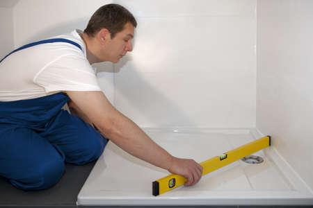 assemblage: plumber