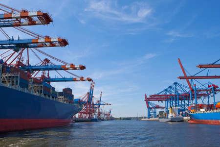 port of shipment Banco de Imagens - 11577357