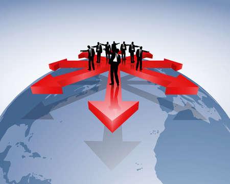export and import: negocios internacionales Vectores