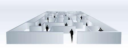 delegar: la gente de negocios