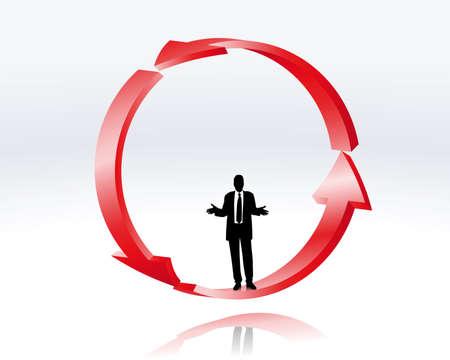 indecisive: decision of a businessman