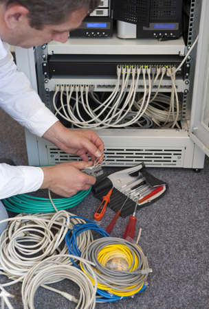 Network administrator Stock Photo - 13639639