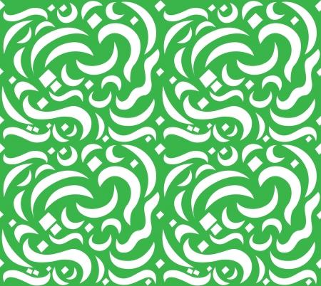 Arabic Letter Seamless Pattern Stock Vector - 16899817