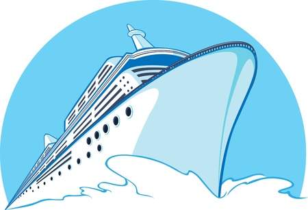 a big ship: Cruise Ship