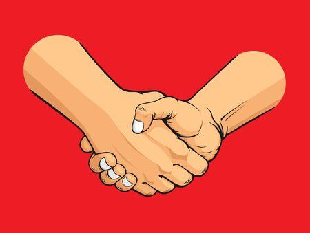 Handshake Stock Vector - 16899893