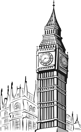 ben: Sketch of Big Ben London