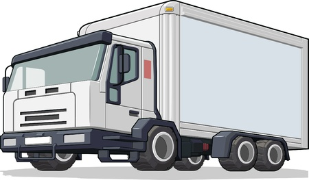 car carrier: Delivery Truck