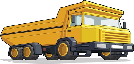 Haul TruckConstruction Truck Vector