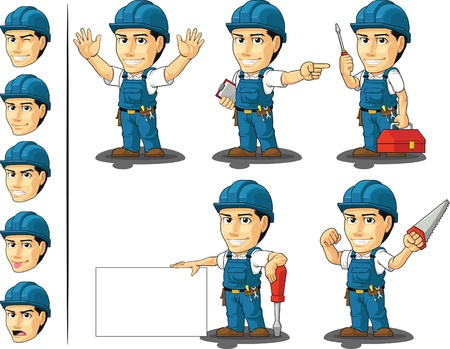 repairman: Technician or Repairman Mascot