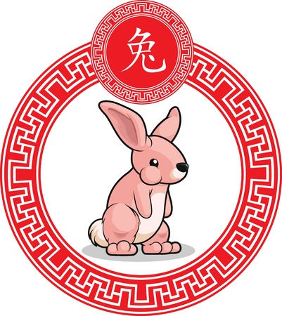 chinese new year rabbit: Chinese Zodiac Animal - Rabbit