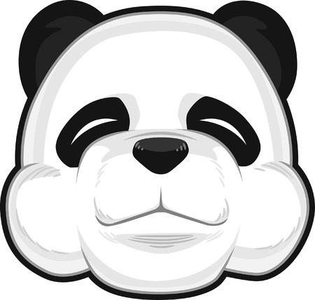 endanger: Cute Panda Illustration