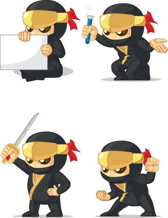 customizable: Ninja Customizable Mascot 2