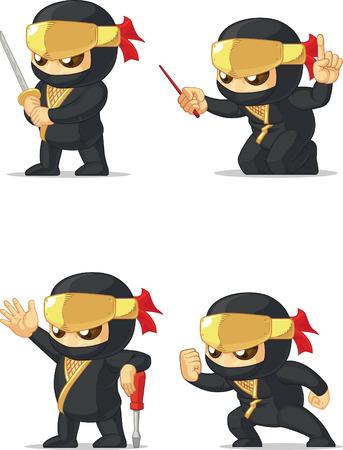 secret number: Ninja Customizable Mascot 16