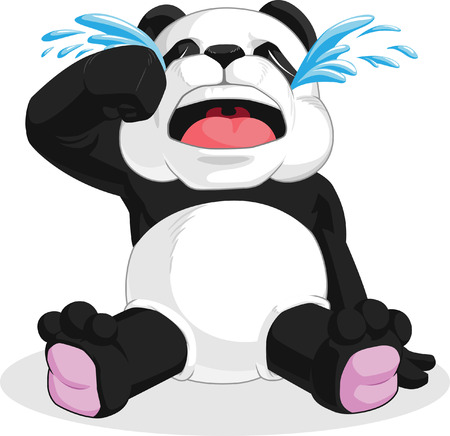 �  giant panda: Panda Crying