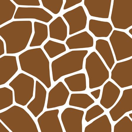 Piel de la jirafa Modelo inconsútil Foto de archivo - 29119016