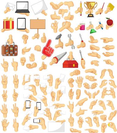 Handzeichen-Sammlung Standard-Bild - 30793859