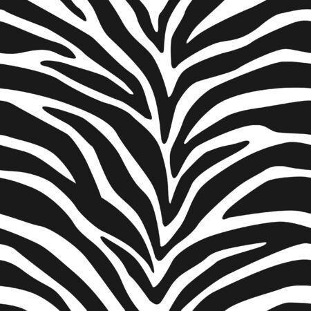 zebra skin: Zebra Stripes Seamless Pattern 2