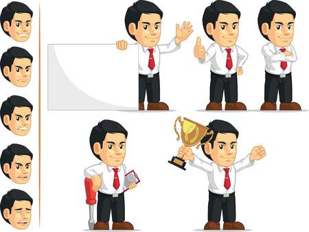 customizable: Office Worker Customizable Mascot 2