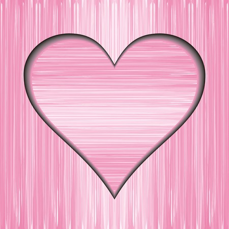 abstract pink and white background with heart Vector