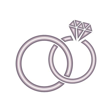 Ornaments vector wedding ring