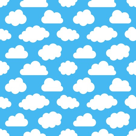 ร   ร   ร   ร  ร ยข  white clouds: Various white clouds collection on blue background