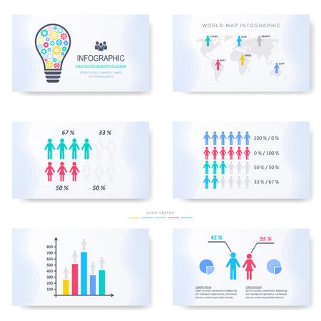slides: infographic template for presentation slides first part