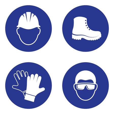 Sencillas aplicaciones de seguridad de salud obligatorias aplicaciones industriales Foto de archivo - 77708284