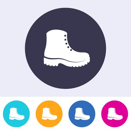 Les chaussures de protection doivent être portées sur l'icône