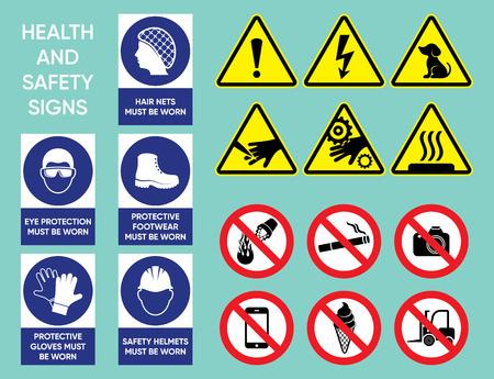 健康・安全標識集