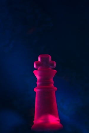 stylish picture of the king chess piece photo