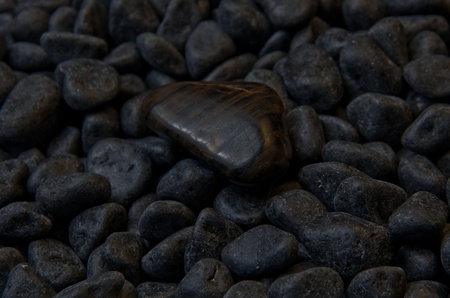 the dark stone, background shot Stock Photo