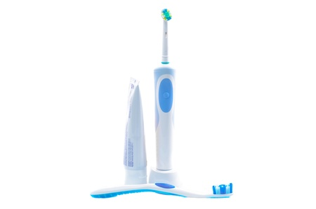 dental products for oral hygiene isolated Stock Photo - 17700833