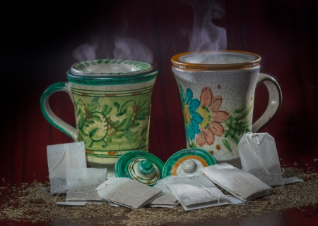 sachets: choose your herb tea, a relaxing moment for your brain and soul