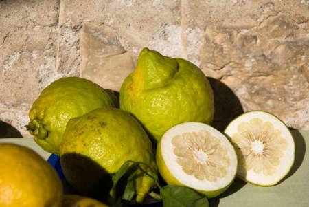 cedar lemon slices Zdjęcie Seryjne
