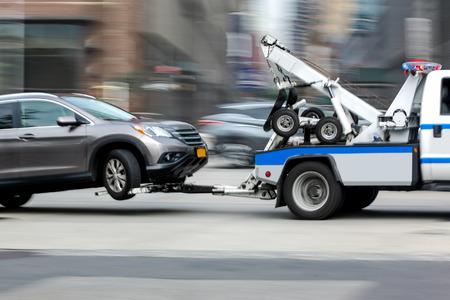 sleepwagen voertuig Stockfoto
