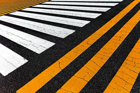 abstract linear texture of asphalt