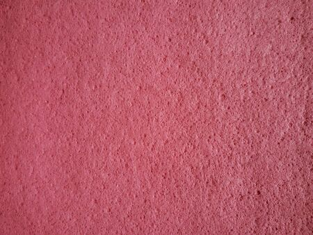 close: Close up view of cleaning sponge pink cloth Stock Photo