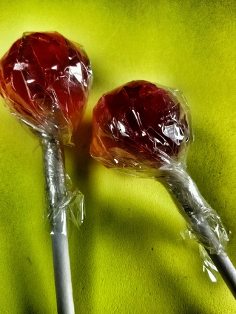 lolli: Close view of two warped lollies
