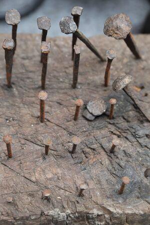 nails: rusty nails