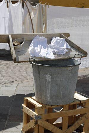 alte: Alte Laundry Stock Photo